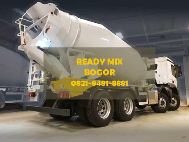 harga beton cor ready mix bogor