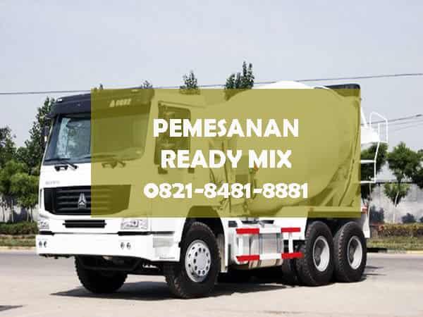 harga 1 truk mixer cor beton ready mix