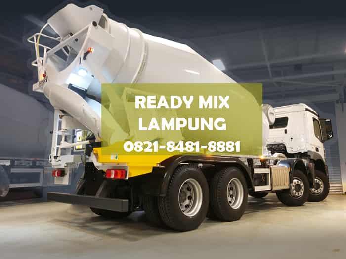 harga beton ready mix lampung