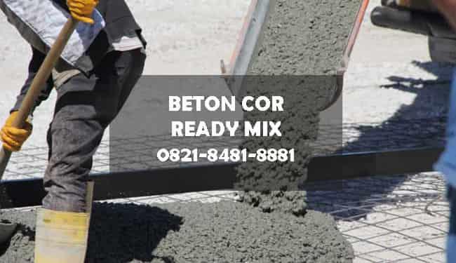 harga cor beton ready mix tangerang